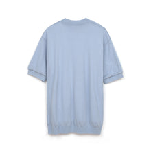 Load image into Gallery viewer, Human Made Short Sleeve Knit Blue