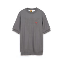 Load image into Gallery viewer, Human Made Short Sleeve Knit Gray - Concrete