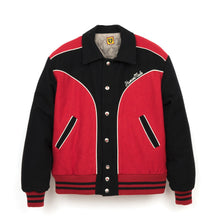 Load image into Gallery viewer, Human Made Varsity Jacket Red