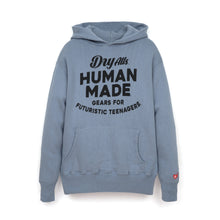 Load image into Gallery viewer, Human Made Hooded Sweatshirt Blue