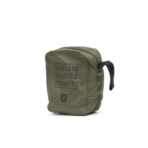 Human Made First Aid Kit Olive Drab - Concrete