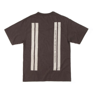 Human Made Line T-Shirt Brown - Concrete