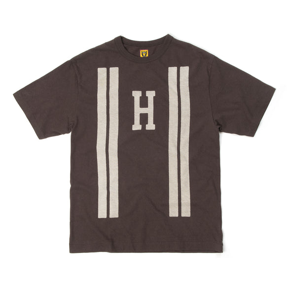Human Made Line T-Shirt Brown