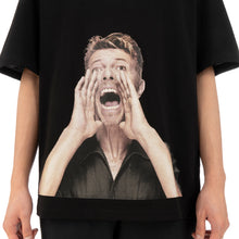 Load image into Gallery viewer, IH NOM UH NIT Bowie Scream T-Shirt Black