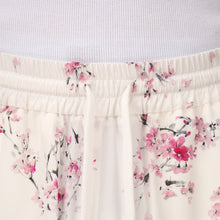 Load image into Gallery viewer, IH NOM UH NIT | Twill Cherry Blossom Print Shorts White