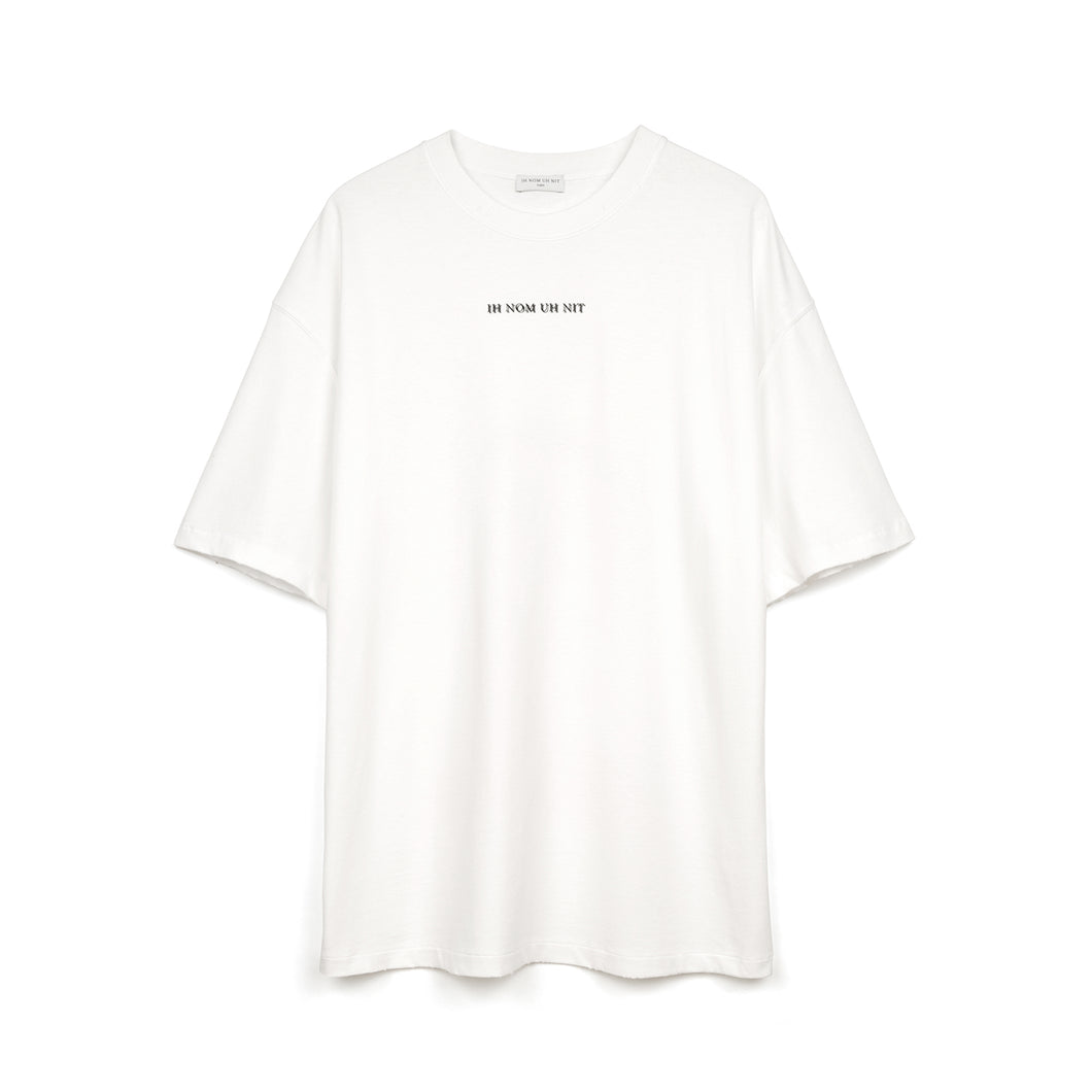 IH NOM UH NIT | Bowie Flash T-Shirt Optic White - Concrete