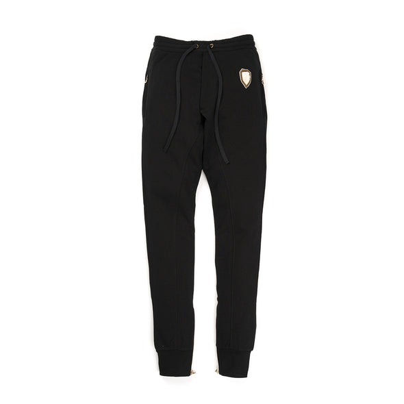 IH NOM UH NIT Embroidered Sweatpants - Crest App On Front Black