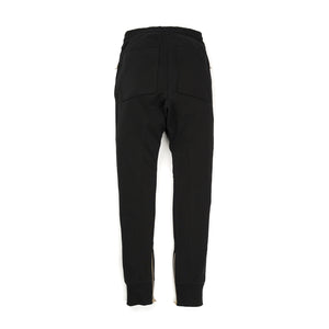 IH NOM UH NIT Embroidered Sweatpants - Crest App On Front Black - Concrete