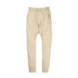 IH NOM UH NIT | Embroidered Sweatpants - Crest App On Front Taupe - Concrete