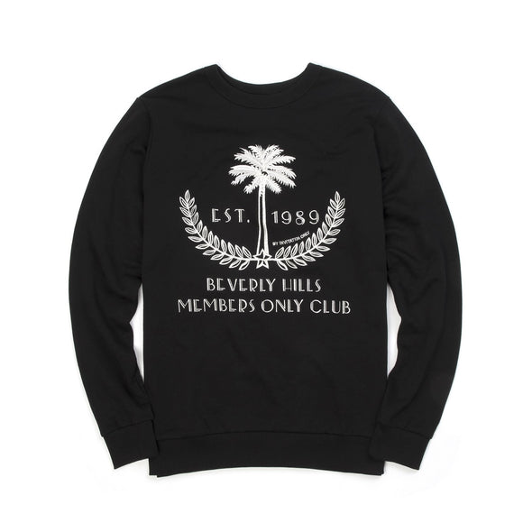 IH NOM UH NIT Embroidered 'Palm' Sweatshirt Black