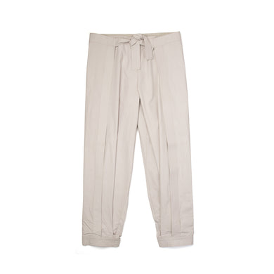 maharishi | Cuffed Hakama Pants Off White - Concrete