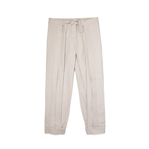 maharishi Cuffed Hakama Pants Off White - Concrete