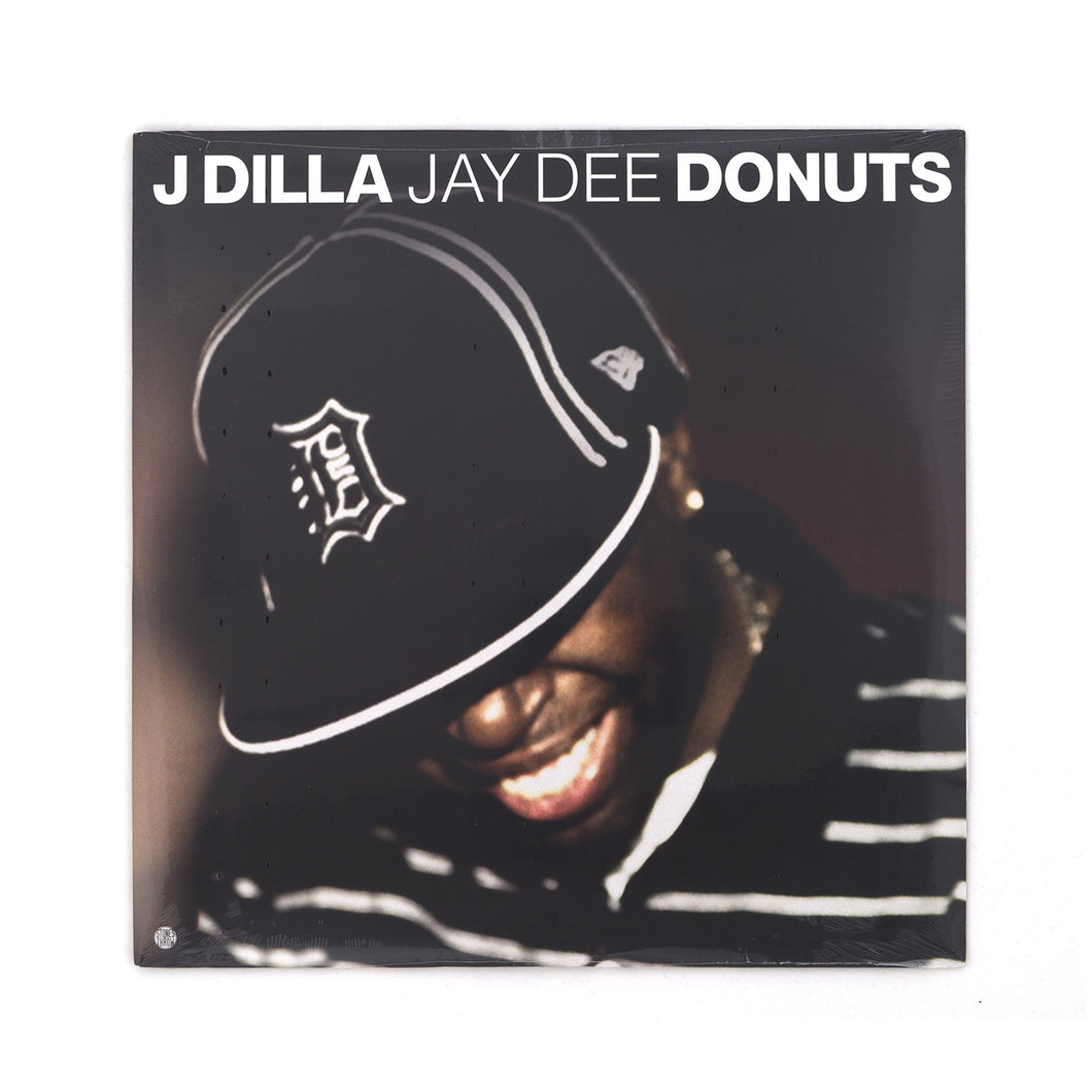J Dilla Jay Dee Donuts 2LP (Smile Cover) - Concrete