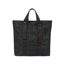 Load image into Gallery viewer, maharishi | Militype Tote Bag Black - Concrete