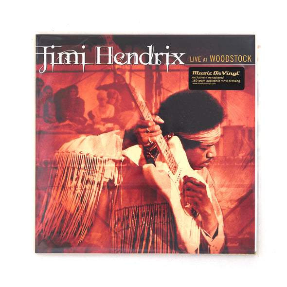 Jimi Hendrix - Live at Woodstock 3-LP - Concrete