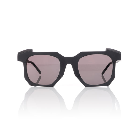 KUBORAUM | Sunglasses & Case K2 51-24 BB Smoke - Concrete