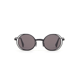 KUBORAUM | Sunglasses & Case H11 45-22 BM Gray - Concrete