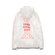 將圖像加載到畫廊查看器中Kappa x A.Four Labs x Shauna T (P.A.M.) Hooded Coach Jacket Clear