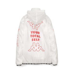 Kappa x A.Four Labs x Shauna T (P.A.M.) Hooded Coach Jacket Clear