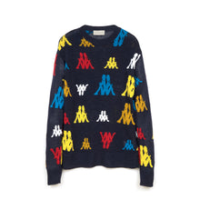 Load image into Gallery viewer, Kappa x Danilo Paura 'Abel' Jaquard Sweater Navy