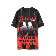 Load image into Gallery viewer, Kappa x A.Four Labs x Shauna T (P.A.M.) Sublimination Football Shirt Flame - Concrete