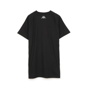 Kappa Kontroll Short Sleeve Raglan T-Shirt Black