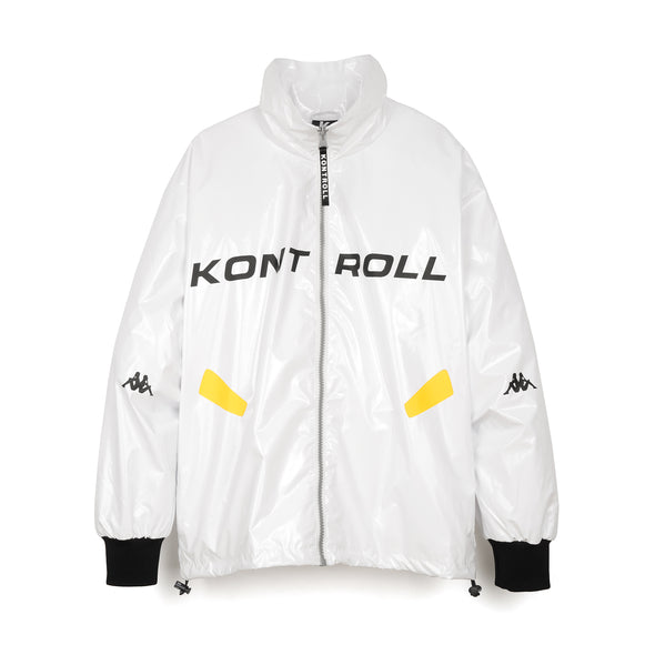Kappa Kontroll Light Windbreaker Jacket White