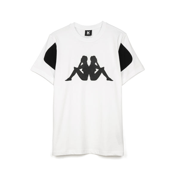 Kappa Kontroll Woman T-Shirt White - Concrete