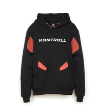 Load image into Gallery viewer, Kappa Kontroll Rubber Hoodie Black / Red