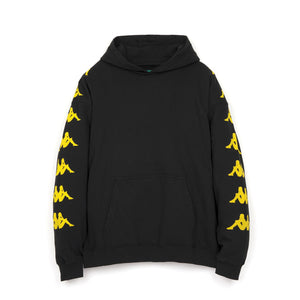 Kappa x Danilo Paura 'Okan' Oversized Hoodie Sweater Black/Yellow