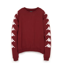 Load image into Gallery viewer, Kappa x Danilo Paura 'Uzai' Oversized Sweater Bordeaux - Concrete