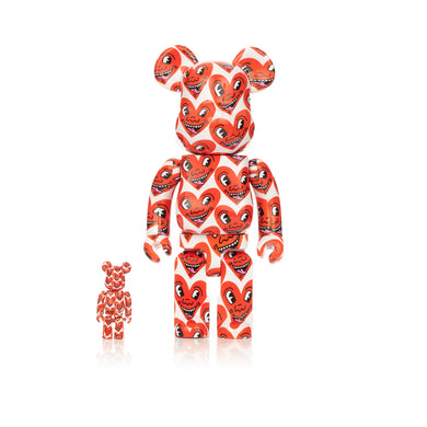 Medicom Toy | Be@rbrick 400% & 100% set Keith Haring #6 - Concrete