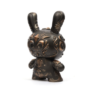 "Kidrobot 8"" It's a F.A.D. Dunny Bronze By J*RYU - Concrete"
