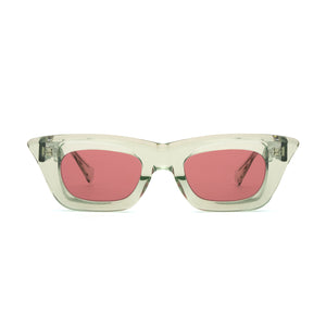 KUBORAUM Sunglass & Case C20 51-25 MT P.red