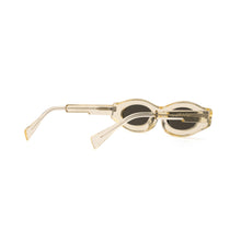 Load image into Gallery viewer, KUBORAUM Sunglasses & Case Y5 49-22 CHP Silver