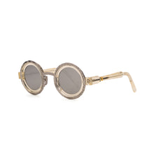 Load image into Gallery viewer, KUBORAUM Sunglasses & Case Z3 41-31 CHP Silver
