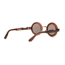 Load image into Gallery viewer, KUBORAUM Sunglass & Case Z3 41-31 CL Bsilver