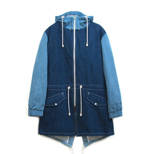 LC23 | Parka Jacket Denim Blue - Concrete