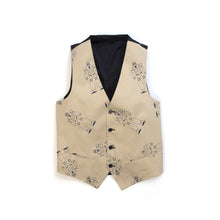 Load image into Gallery viewer, LC23 | Gabardina Robot Gilet Beige/Navy - Concrete