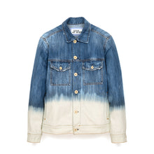 Load image into Gallery viewer, LC23 2 Colori Denim Jacket Blue/White