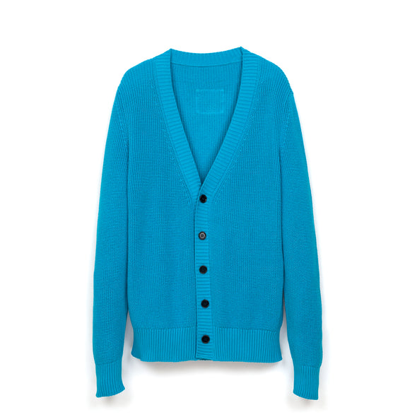 LC23 Monocolor Cardigan Turquoise