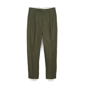 LC23 Gabardina Trousers Military Green