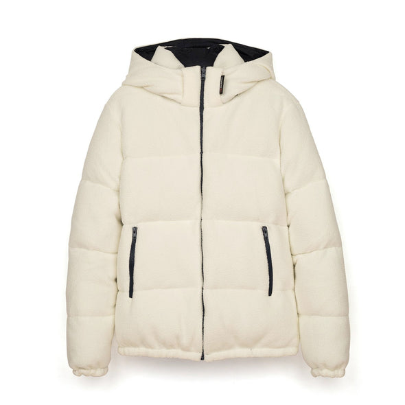 LC23 | Polartec Reversible Down Jacket White - Concrete