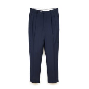 LC23 No Crumpling Trousers Navy