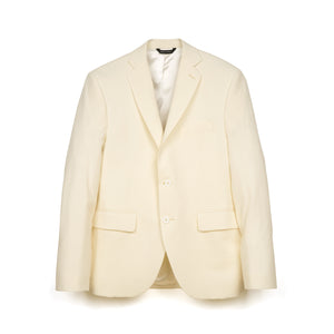 LC23 | Seersucker Blazer Cream - Concrete