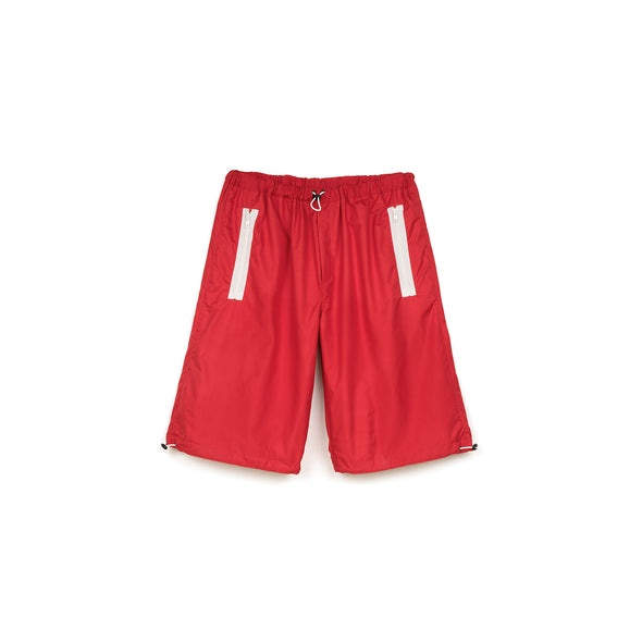 LC23 | Nylon Shorts Red - Concrete