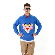 Afbeelding in Gallery-weergave laden, LC23 | Pantera Jacuard Sweater Blue