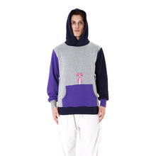 Load image into Gallery viewer, LC23 | Multicolor Pantera Hoodie Grey / Navy / Violet