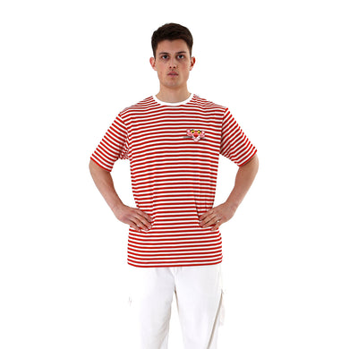 LC23 | Pantera Stripes T-Shirt Cream / Red