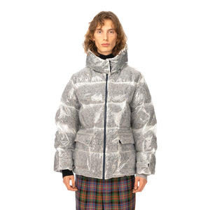 LC23 | Polyurethane Down Jacket Grey